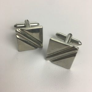 Other - Silver Cufflinks Squares!